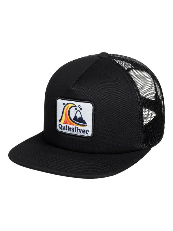 0 Bustered Trucker Cap Black AQYHA04388 Quiksilver
