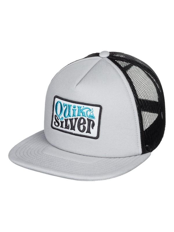 0 Bustered Trucker Cap Grey AQYHA04388 Quiksilver