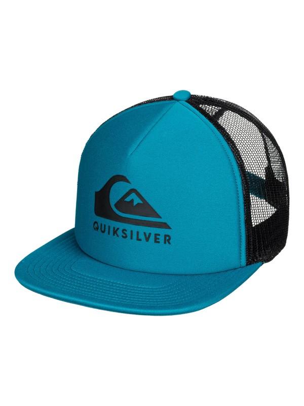 0 Foamslayer Trucker Cap Blue AQYHA04391 Quiksilver