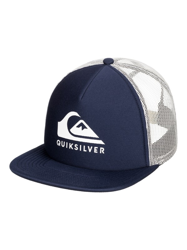 0 Foamslayer Trucker Hat Blue AQYHA04391 Quiksilver