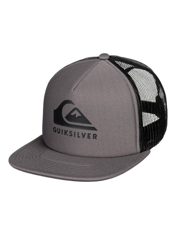 0 Foamslayer Trucker Hat Black AQYHA04391 Quiksilver