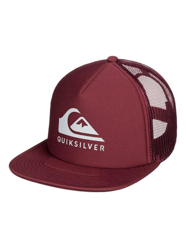 0 Foamslayer Trucker Cap Red AQYHA04391 Quiksilver