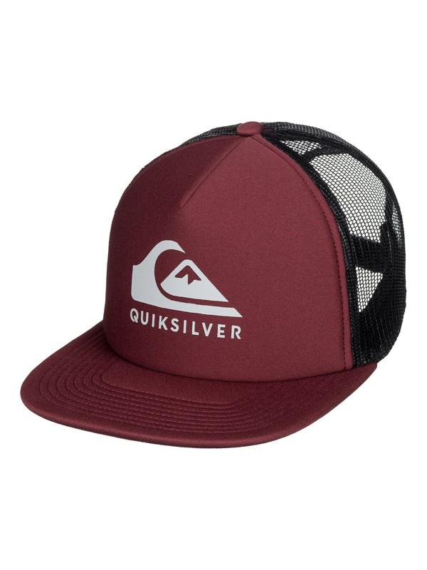 0 Foamslayer Trucker Hat Red AQYHA04391 Quiksilver