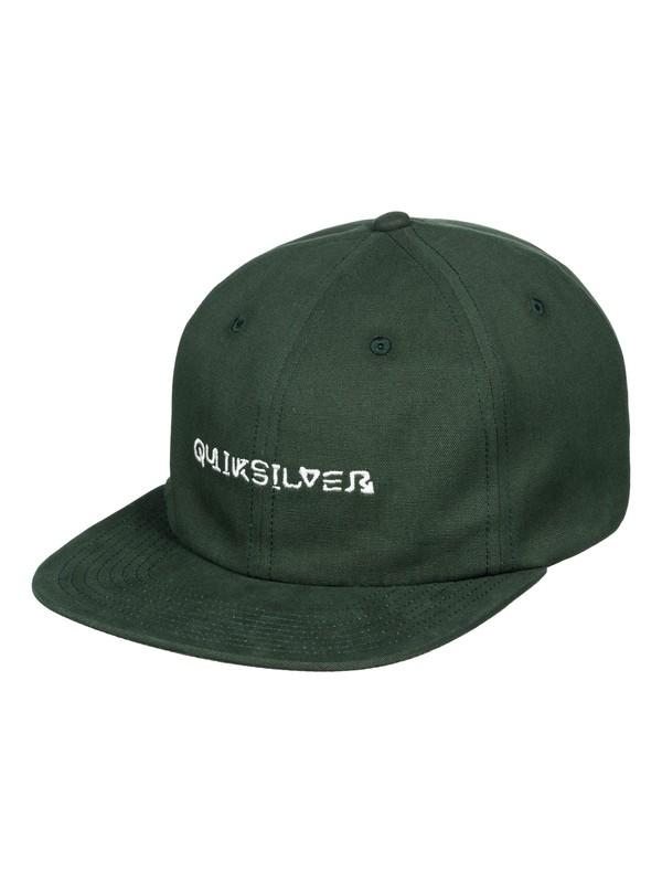 0 Starski Baseball Hat Green AQYHA04407 Quiksilver