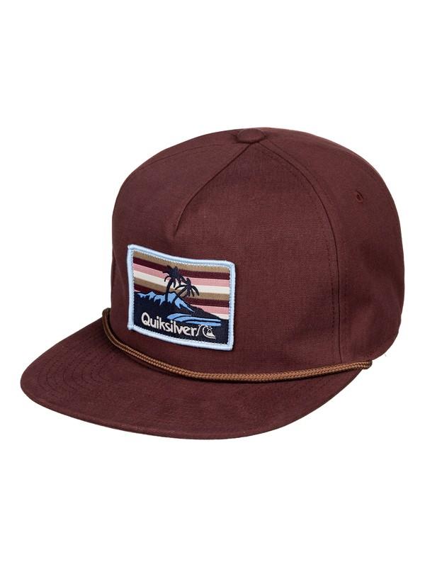0 Slipstockers Snapback Hat Red AQYHA04425 Quiksilver
