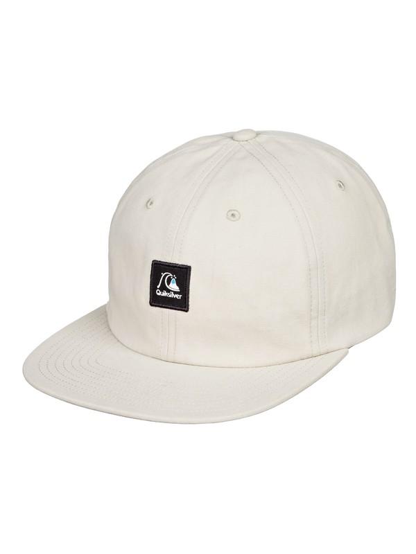0 Cow Tipper Snapback Hat Beige AQYHA04427 Quiksilver