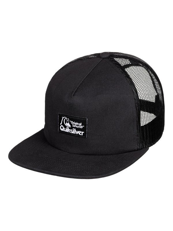 0 Floppy Trucker Hat Black AQYHA04429 Quiksilver