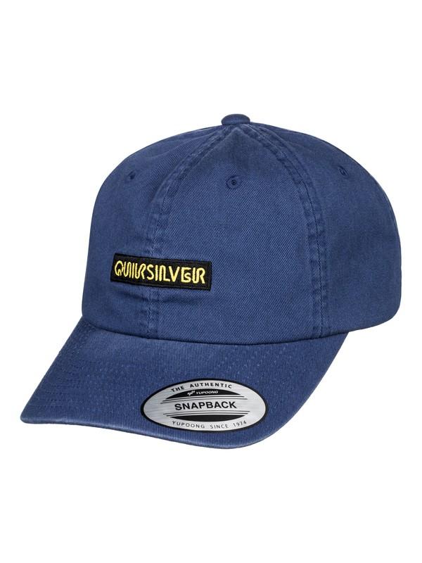 0 Carsons Dad Hat Blue AQYHA04430 Quiksilver
