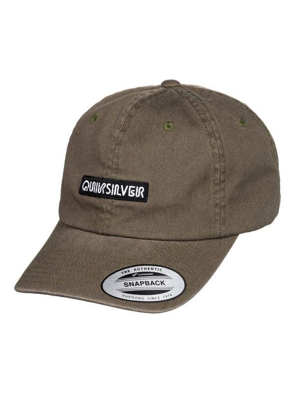 0 Carsons Dad Hat Brown AQYHA04430 Quiksilver
