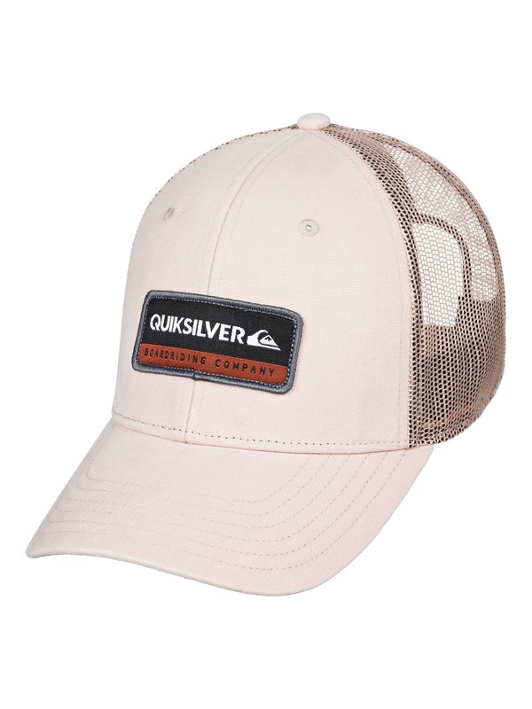 0 Rinsed Trucker Hat Brown AQYHA04437 Quiksilver