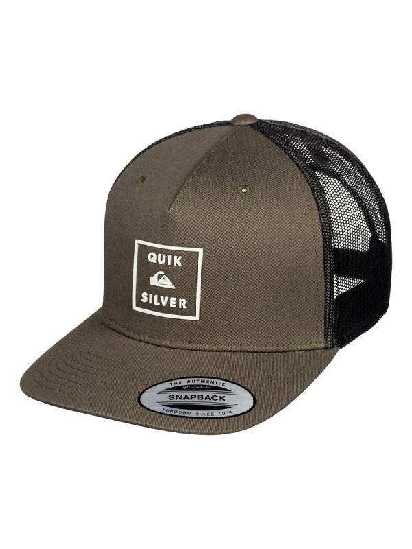 0 Locked In Trucker Hat Brown AQYHA04444 Quiksilver