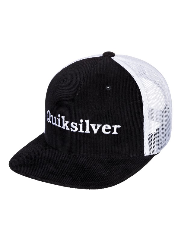 0 Cordon Hue - Trucker Cap Black AQYHA04448 Quiksilver