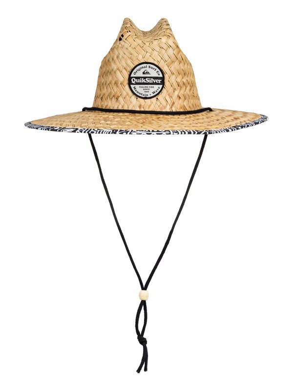 0 Outsider Straw Lifeguard Hat White AQYHA04462 Quiksilver