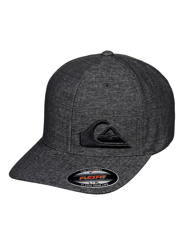 0 Final Snapback Hat Black AQYHA04468 Quiksilver