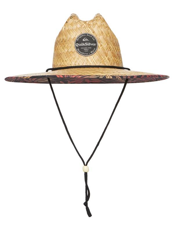 0 Outsider Pandana Straw Lifeguard Hat Yellow AQYHA04476 Quiksilver