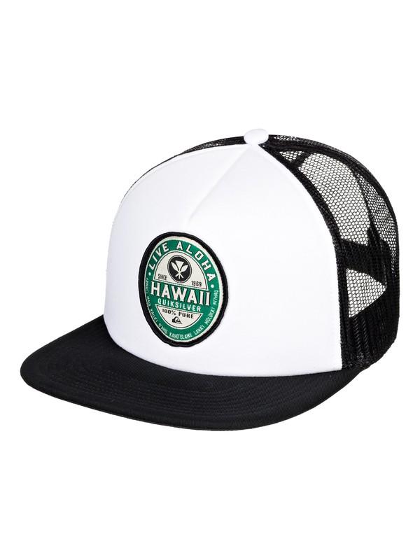 0 Foam Ballin Trucker Hat White AQYHA04479 Quiksilver