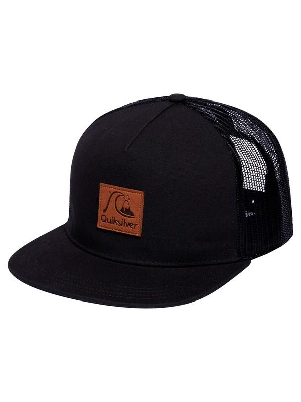 0 Blown Out Trucker Hat Black AQYHA04497 Quiksilver