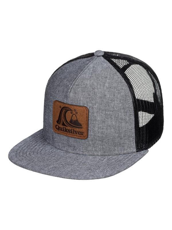 0 Hinders Trucker Hat Black AQYHA04503 Quiksilver