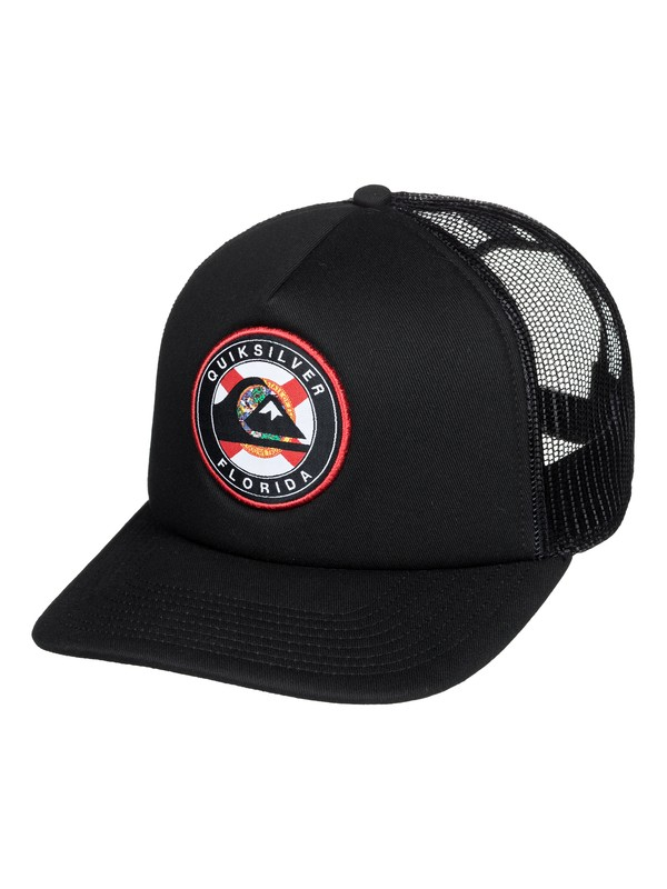 0 Destinado Trucker Hat Black AQYHA04526 Quiksilver