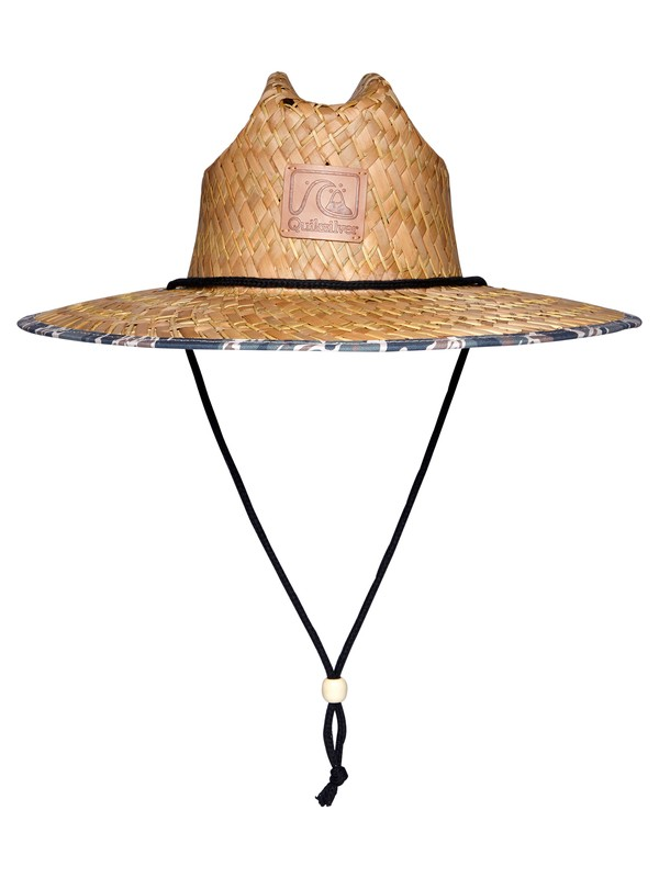 0 Outsider Straw Lifeguard Hat Blue AQYHA04533 Quiksilver