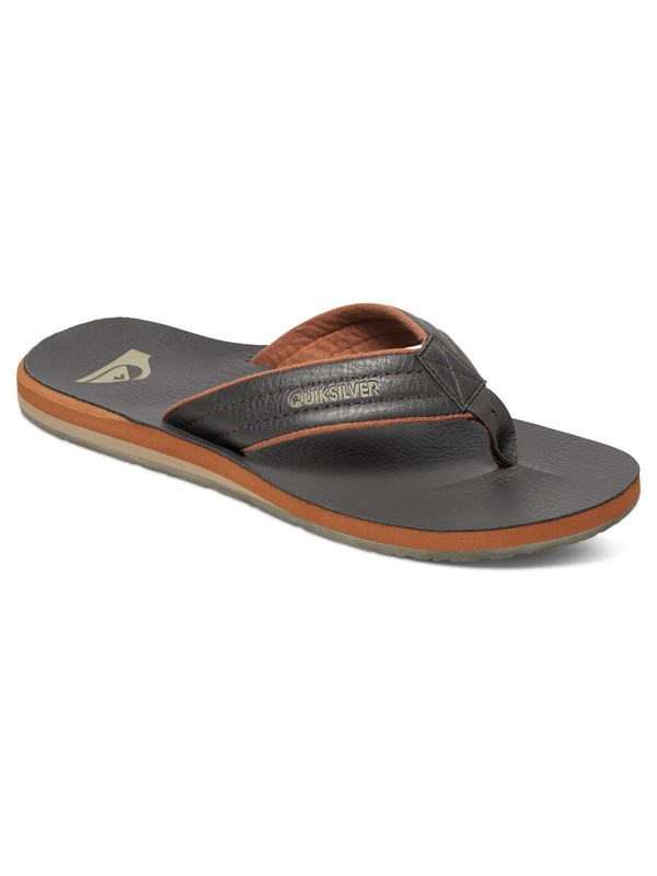 0 Carver Nubuck - Sandals Brown AQYL100040 Quiksilver