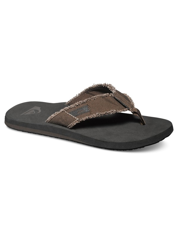 0 Monkey Abyss - Sandals for Men Brown AQYL100047 Quiksilver
