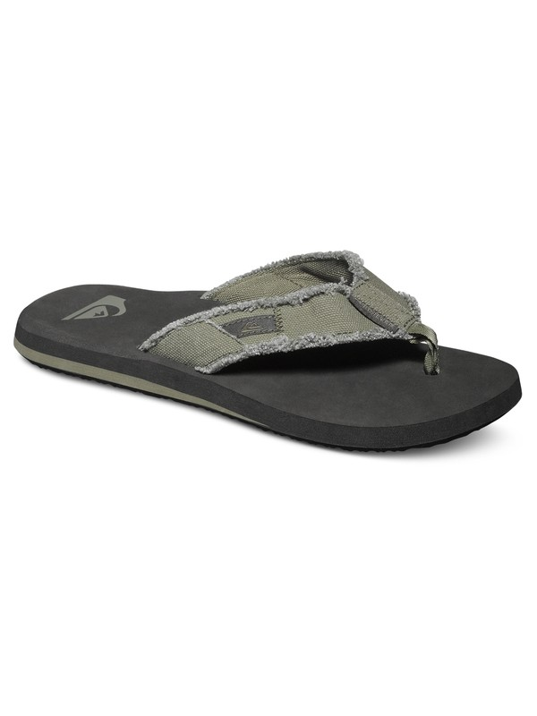 0 Monkey Abyss Sandals Green AQYL100047 Quiksilver