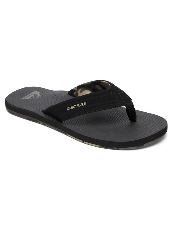 0 Island Oasis Sandals Black AQYL100401 Quiksilver