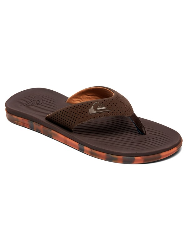 0 Haleiwa Plus Sandals Brown AQYL100497 Quiksilver