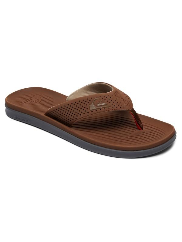 0 Haleiwa Plus Sandals Brown AQYL100497 Quiksilver
