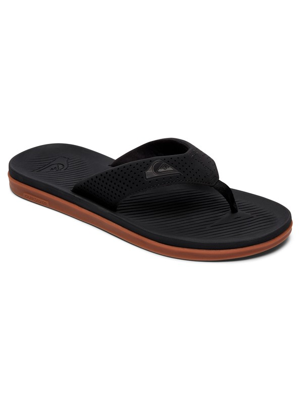 0 Haleiwa Plus Sandals Black AQYL100497 Quiksilver
