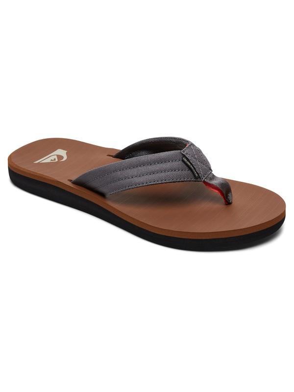 0 Carver Tropics Sandals Grey AQYL100541 Quiksilver