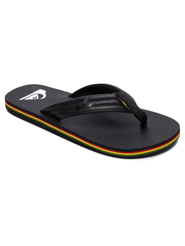0 Molokai Wide TX Sandals Black AQYL100542 Quiksilver