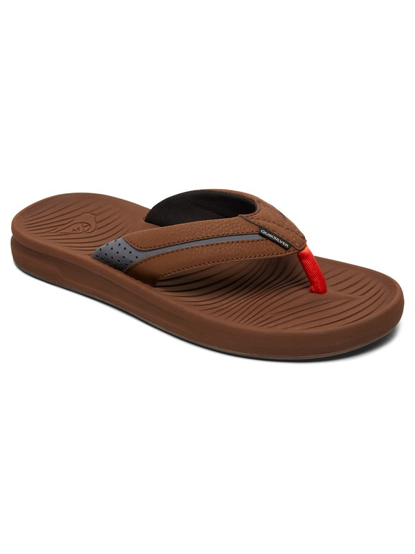 0 Travel Oasis Sandals Brown AQYL100543 Quiksilver