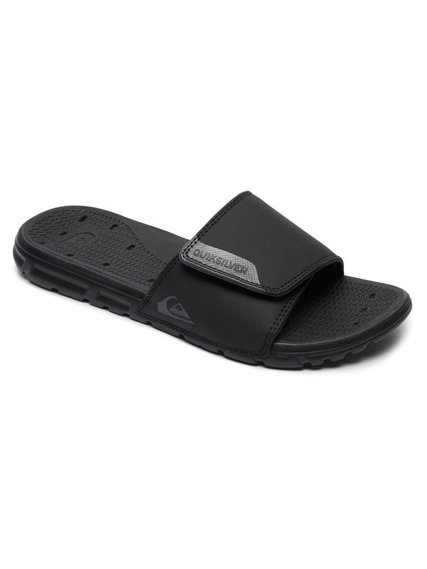 0 Amphibian Slider Sandals Black AQYL100556 Quiksilver