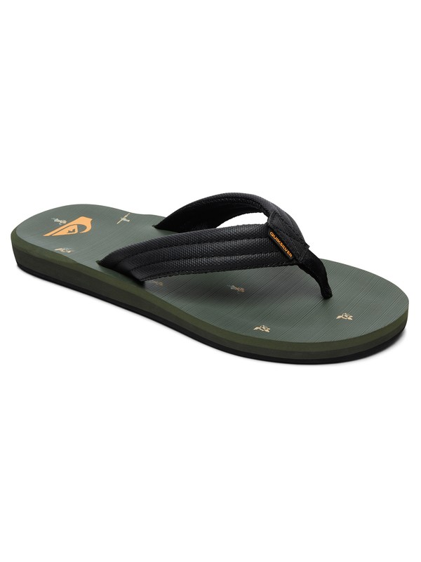 0 Carver Sandals Grey AQYL100559 Quiksilver
