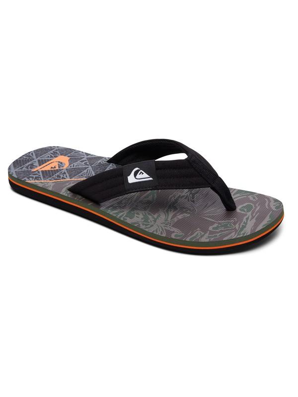 0 Molokai Layback Sandals Black AQYL100560 Quiksilver