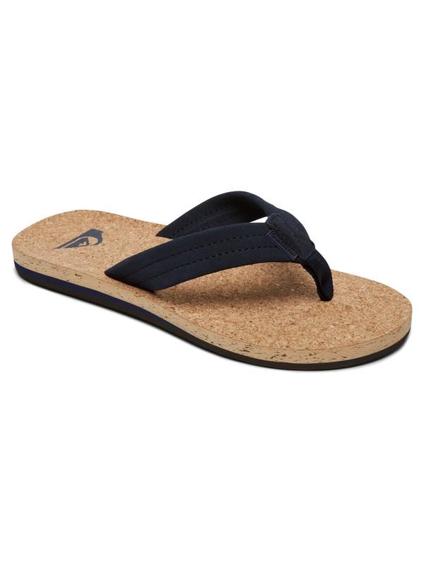 3c5470733aaa 0 Carver Cork - Leather Sandals for Men AQYL100597 Quiksilver