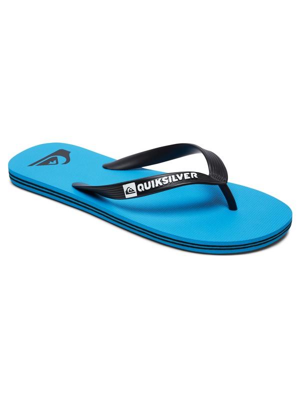 0 Molokai - Flip-Flops Blue AQYL100601 Quiksilver