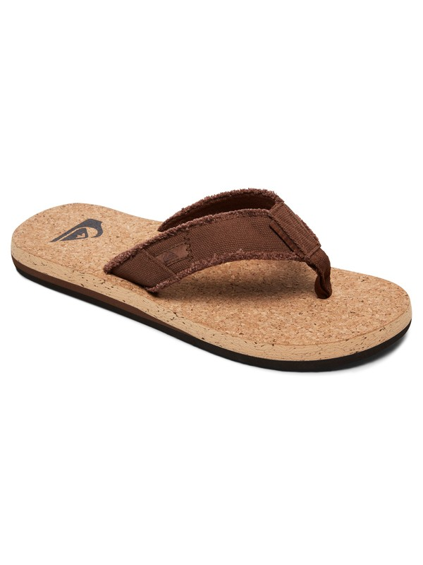 0 Monkey Abyss Cork - Sandals for Men Beige AQYL100622 Quiksilver