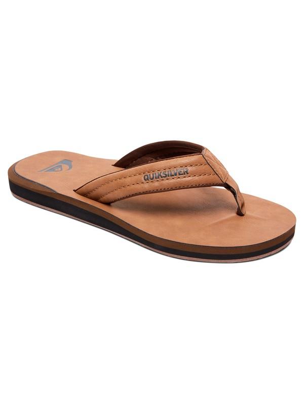 0 Carver Nubuck Sandals Beige AQYL100623 Quiksilver