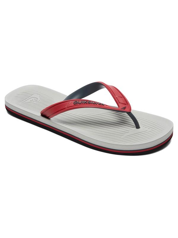 0 Haleiwa Flip-Flops Red AQYL100627 Quiksilver