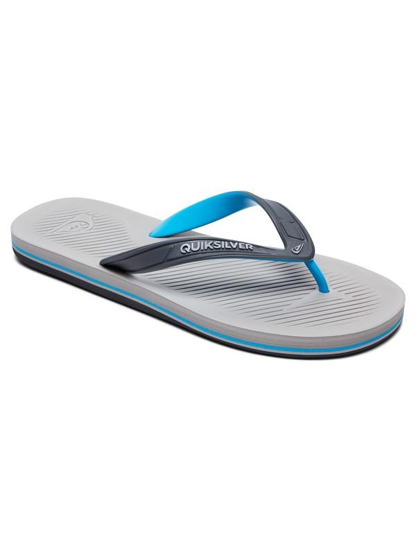 0 Haleiwa Flip-Flops Grey AQYL100627 Quiksilver