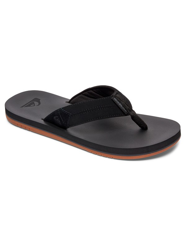 0 Coastal Oasis - Sandals Black AQYL100633 Quiksilver