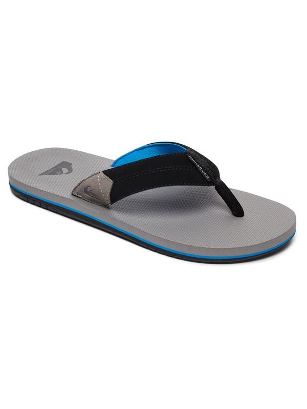 0 Coastal Oasis Sandals Grey AQYL100633 Quiksilver