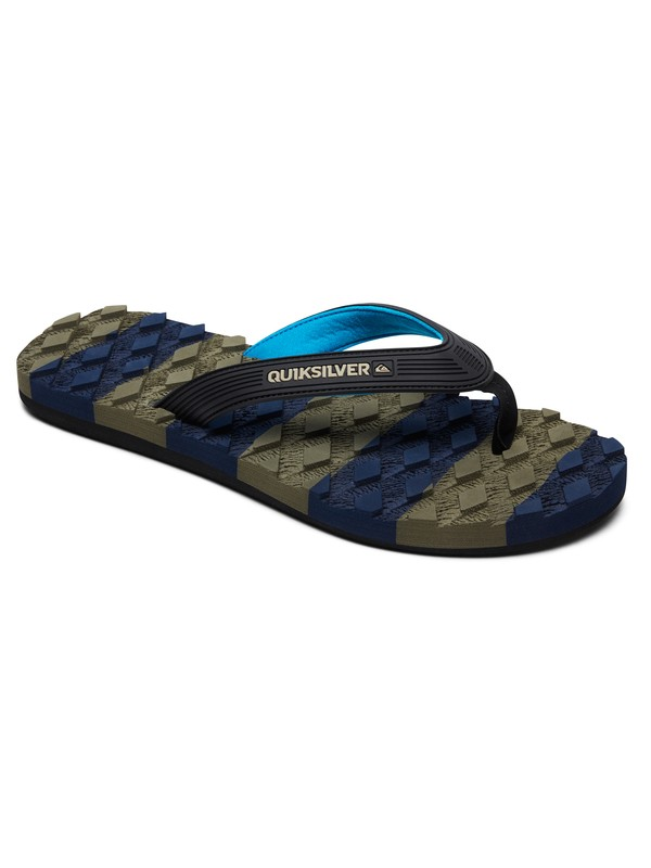 0 Massage Sandals Black AQYL100637 Quiksilver