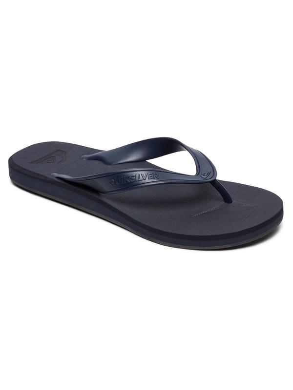 0 Sandalias Tipo Flip- Flops- Carver Deluxe Azul AQYL100678 Quiksilver