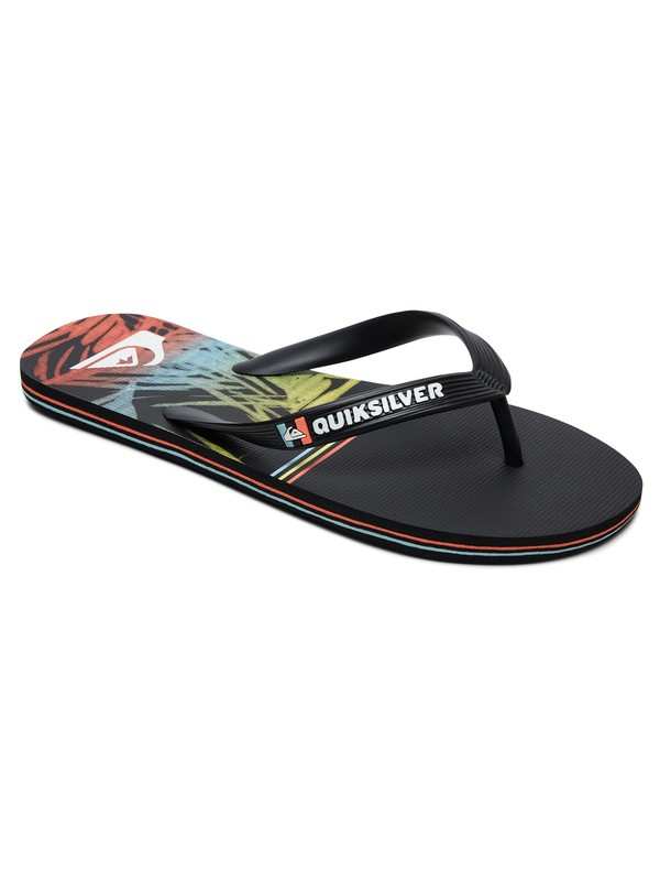 0 Molokai Zen Division Flip-Flops Black AQYL100680 Quiksilver