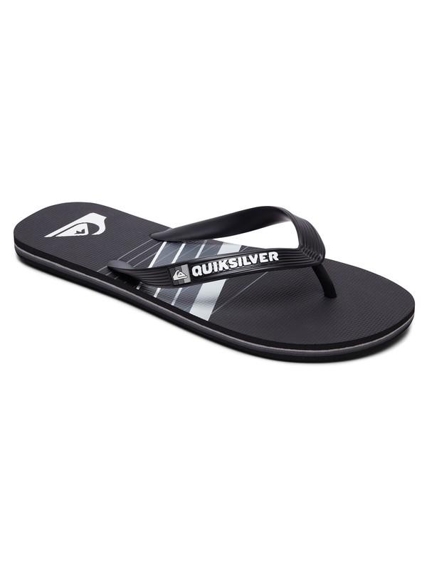 0 Molokai Core Slash Flip-Flops Black AQYL100684 Quiksilver