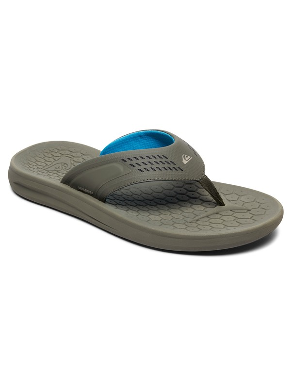 0 Layover Travel Sandals Grey AQYL100694 Quiksilver
